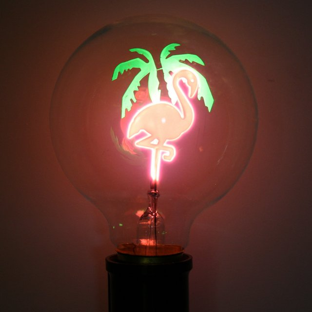 Flamingo Retro Bulb for Uk EU only