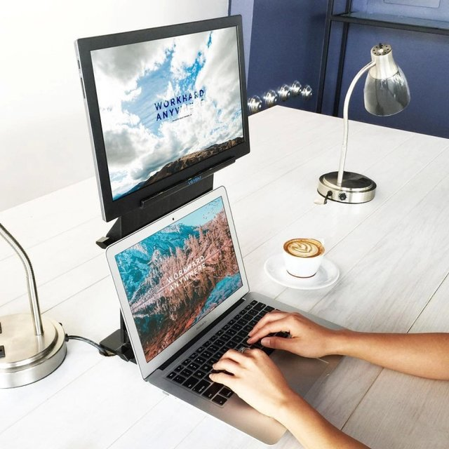 USB-Powered Monitor Laptop Stand