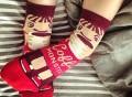 Coffee Monster Ankle Socks