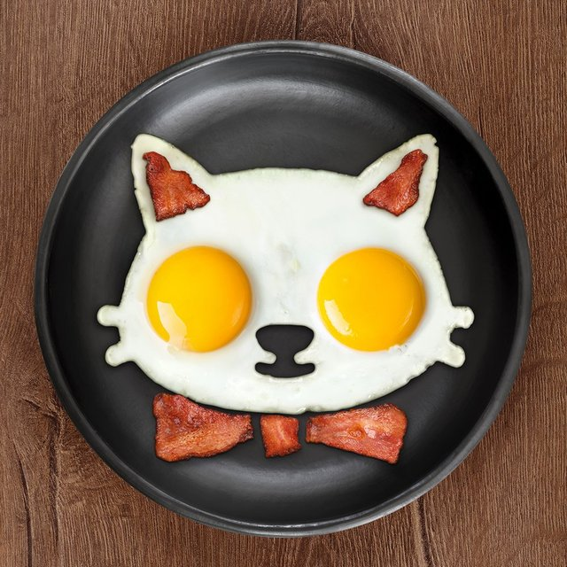 Cat-Shaped Egg Mold