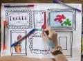 Doodle Frame Placemats