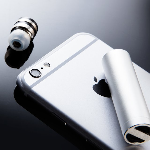 Bullet Bluetooth 4.1 Earpiece + Charging Capsule by Schatzii