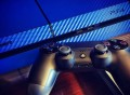 Blue Carbon Fiber PS4 Skin