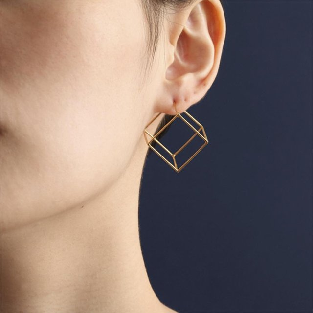 Square 20 mm Earring