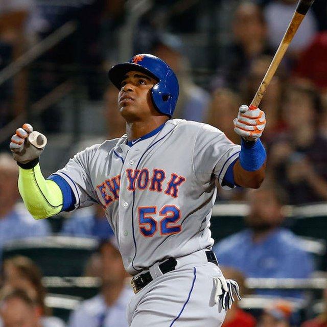 Yoenis Cespedes Autographed New York Mets Batting Helmet