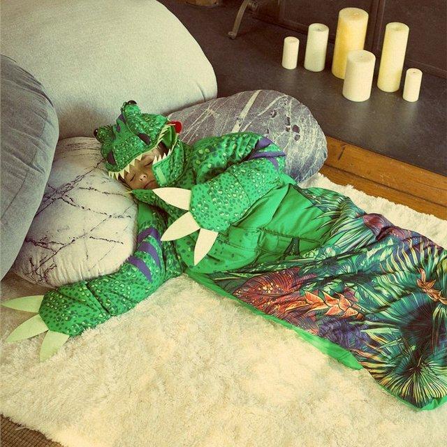 Chomposaurus Glow to Sleep Sack
