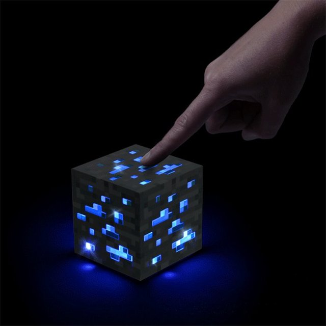 Light-Up Diamond Ore