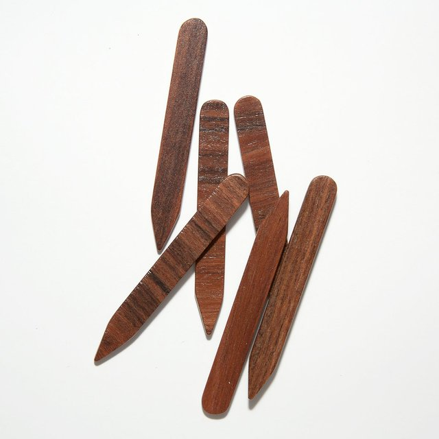 Rosewood Wood Collar Stays