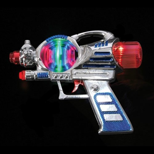 LED Meteor Storm Space Gun