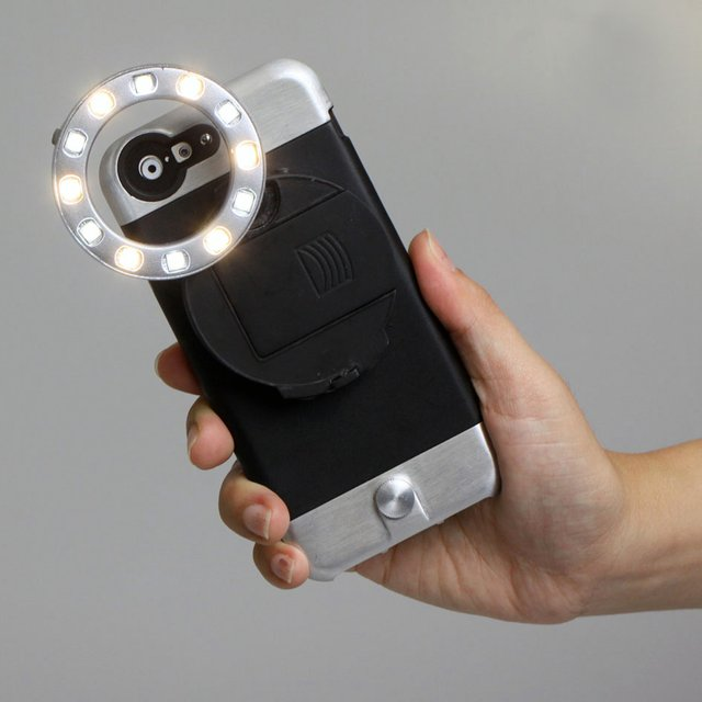 Ztylus LED RV-L1 Ring Light iPhone Case Attachment