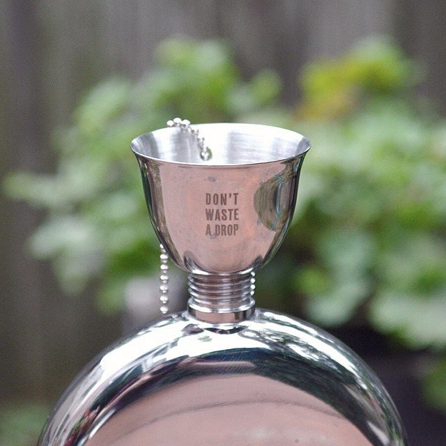 Engraved Flask Funnel