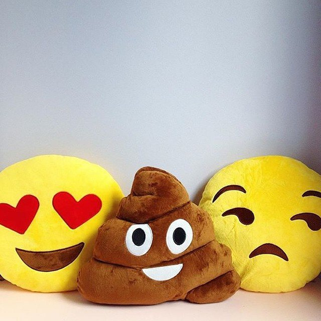 Poo Emoji Pillow