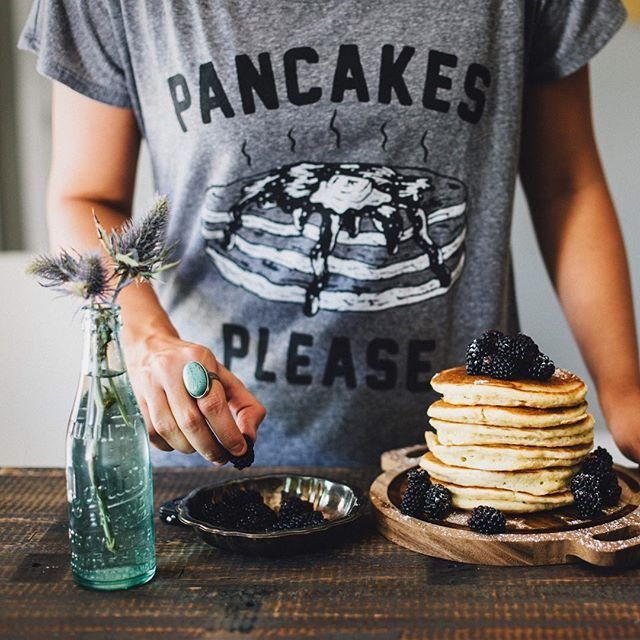 Pancakes Please Dolman Tee by Pyknic