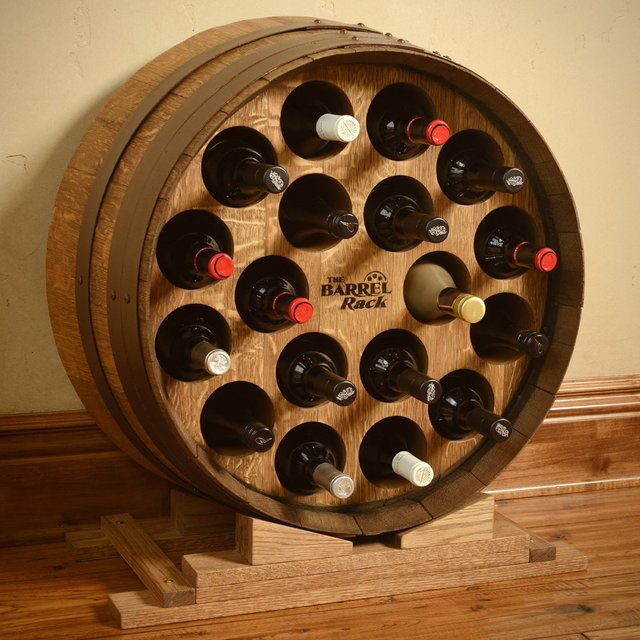 Third Barrel Wine Rack