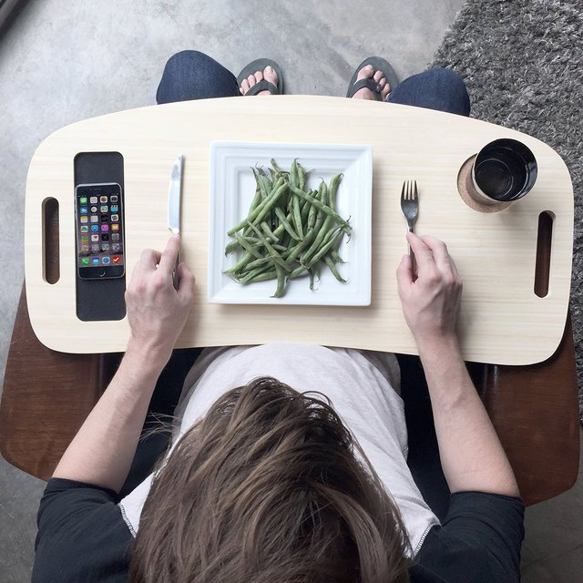 Slice TV Tray by iSkelte