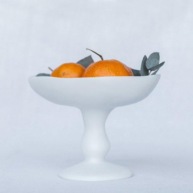 Graal Hanmdade Resin Pedestal Bowl