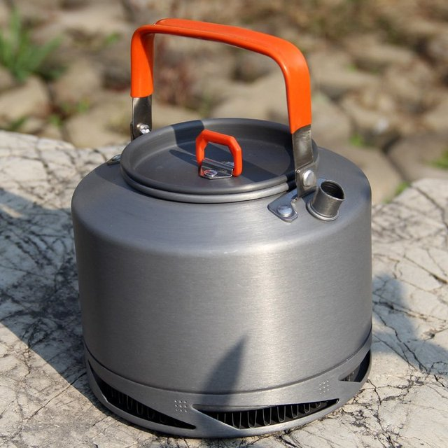 Camping Heat Exchanger Kettle