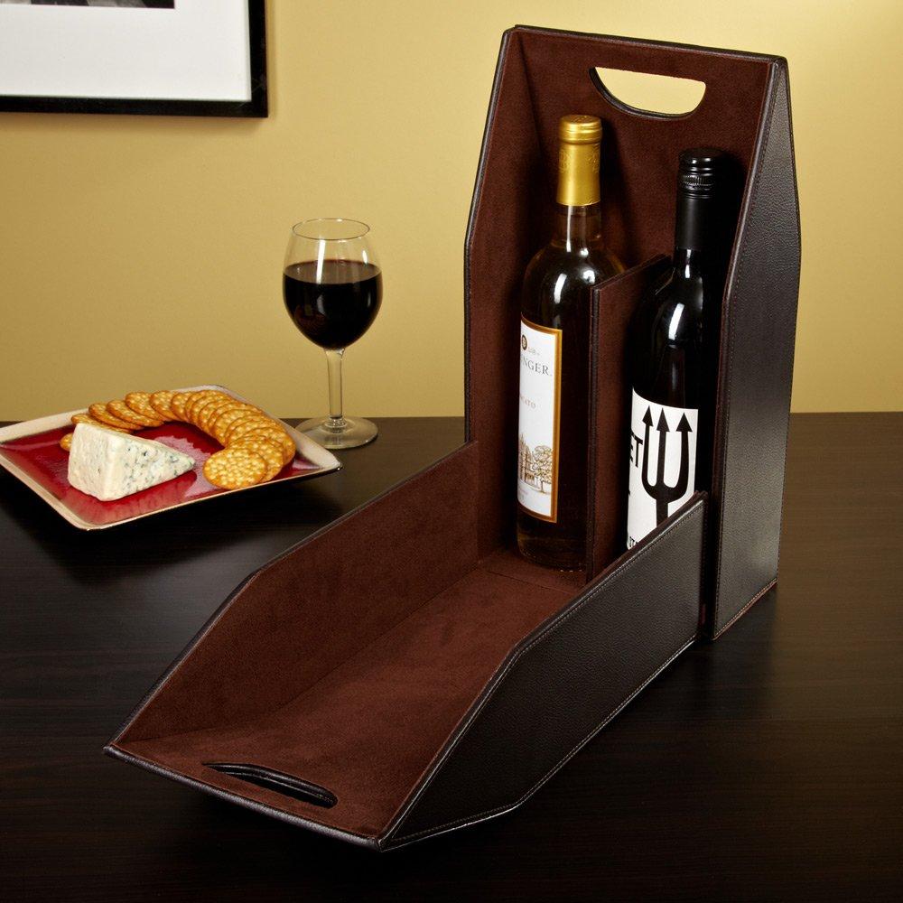Two in One Wine Bottle Carrier