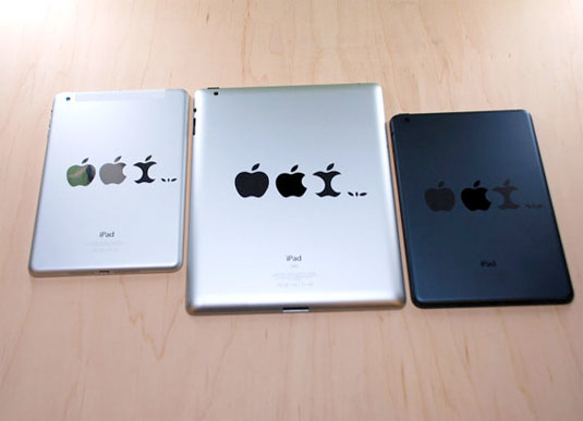 Apple Evolution Decals