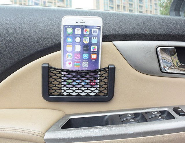Car Storage Net Pocket Organizer
