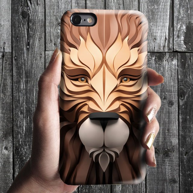 Lion Face Phone Case