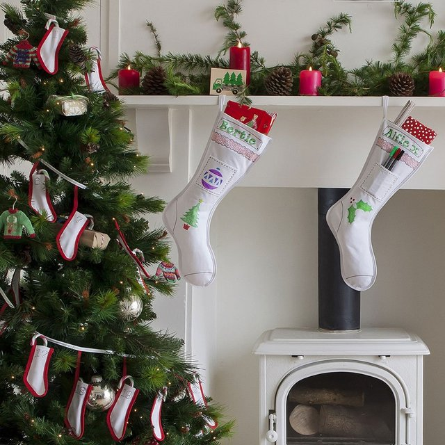 Doodle Christmas Stocking