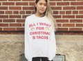 All I Want For Christmas is Tacos Crewneck