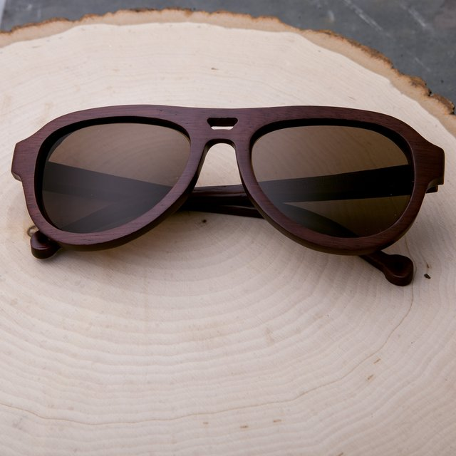 Earth Wood Coronado Polarized Sunglasses