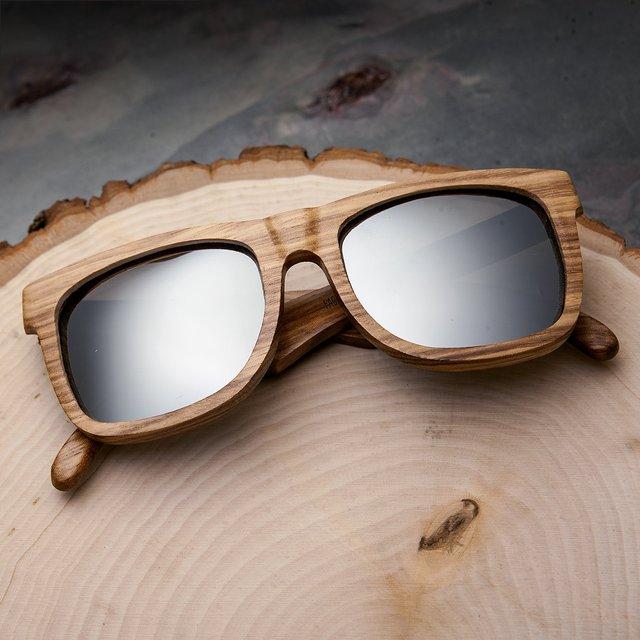 Earth Wood Hampton Polarized Sunglasses