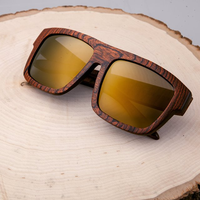 Earth Wood Hermosa Polarized Sunglasses