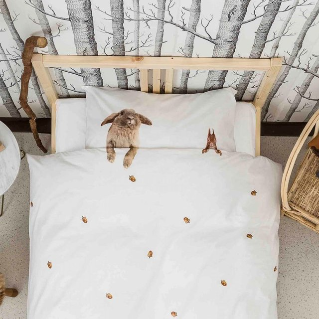 Furry Friends Bedding by Snurk