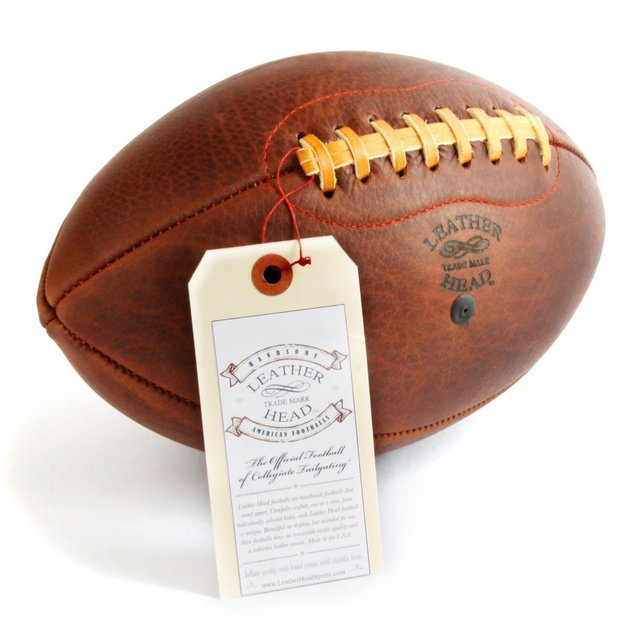 Handsome Dan Football by Leather Head