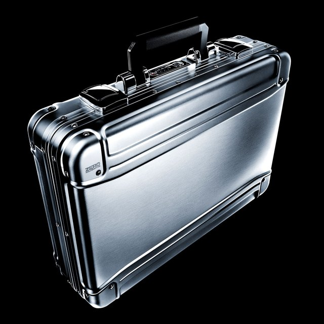 Geo Aluminum Laptop Attache