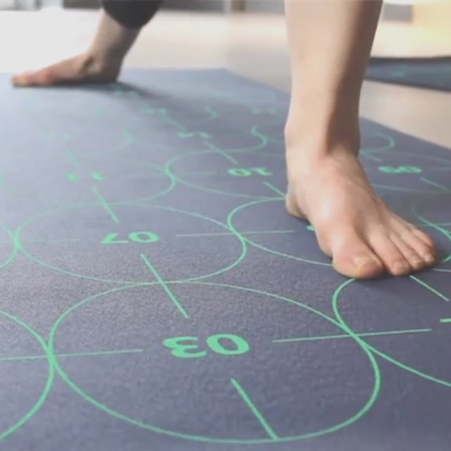 Yoga by Numbers Yoga Mat