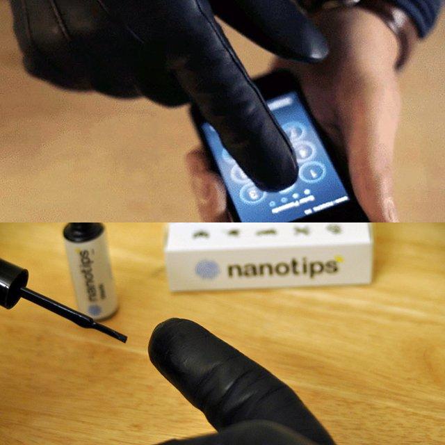 Nanotips Touchscreen Glove Solution