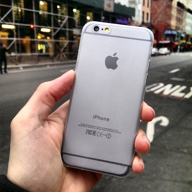 White Ultra Thin iPhone 6 Case