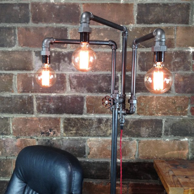 Industrial Mod Floor Lamp
