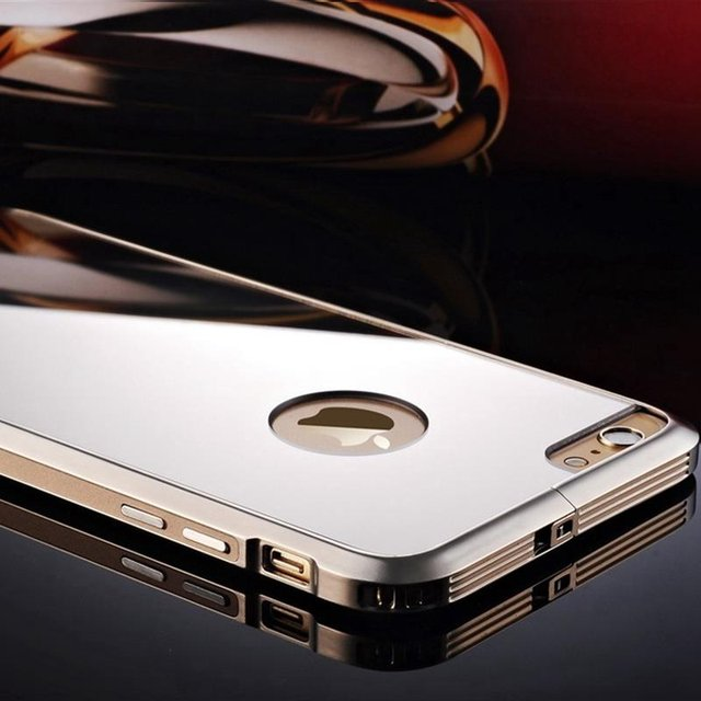 Aluminum Alloy Metal Mirror iPhone Case