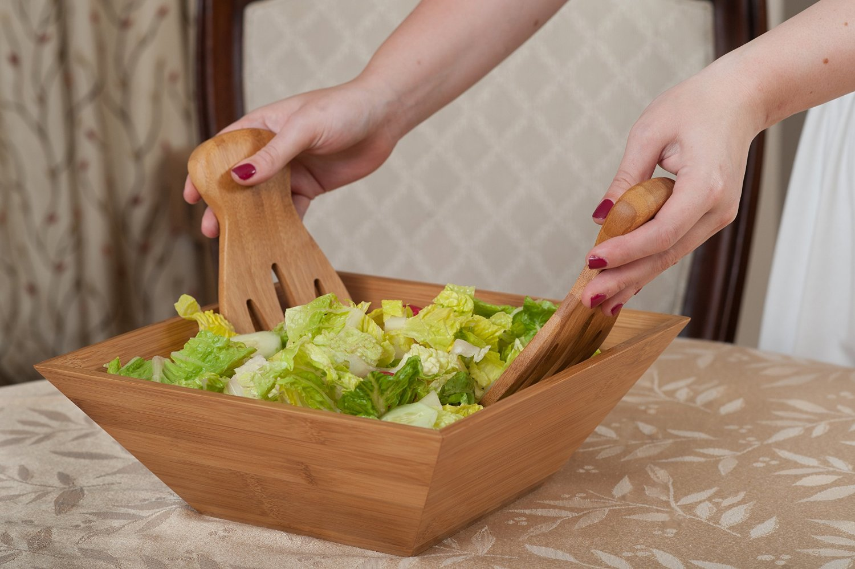 Bamboo Salad Set