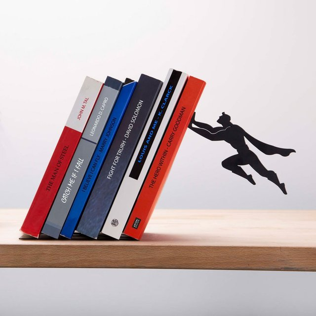 Book Hero Bookend