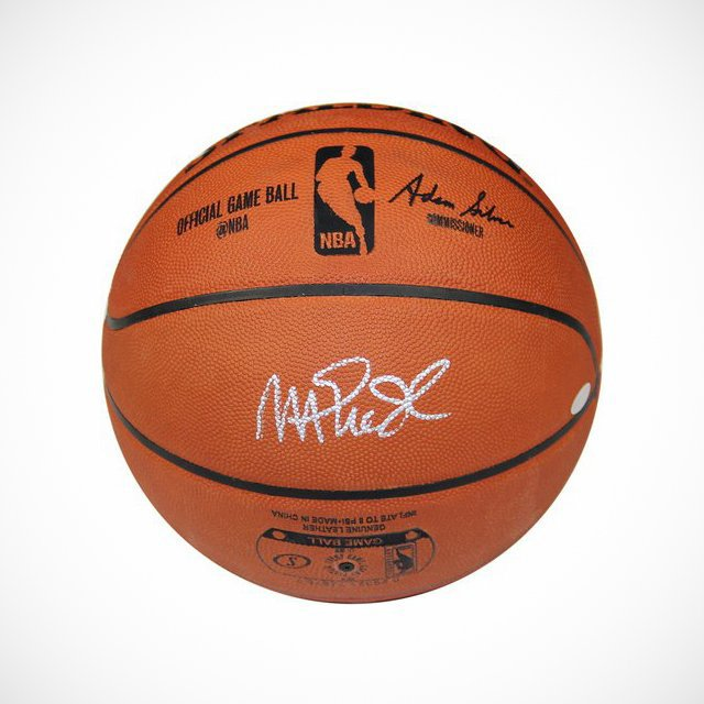Magic Johnson Autographed NBA Official Basketball