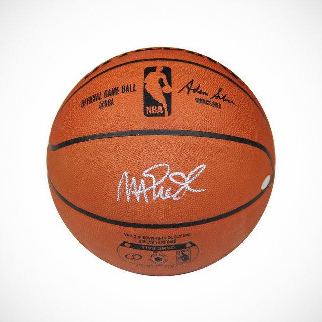 Magic Johnson Autographed NBA Official Basketball