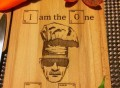 I'm The One Who Cooks Cutting Board