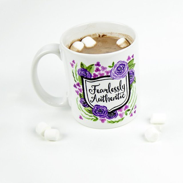 Fearlessly Authentic Mug