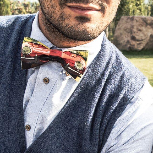 The E-Type's Portrait Bow Tie