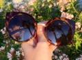 China Doll Tortoise Shell Sunglasses by Quay Eyeware