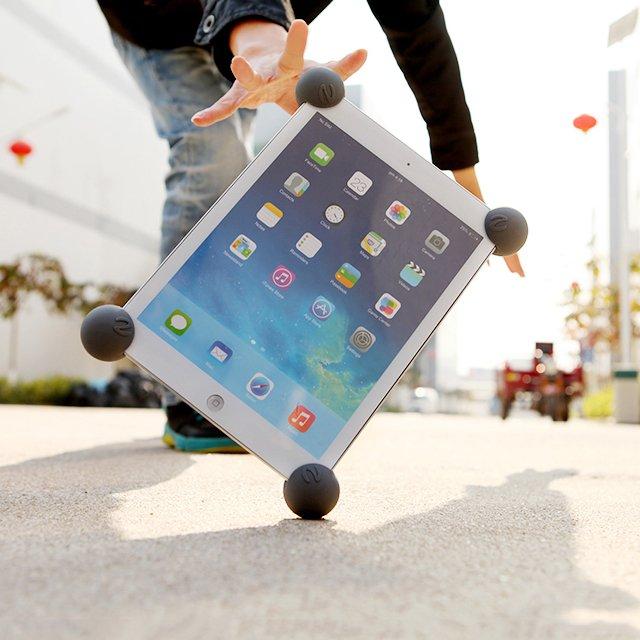 Anti-Shock Big Mouth Ball Silicone iPad Cover