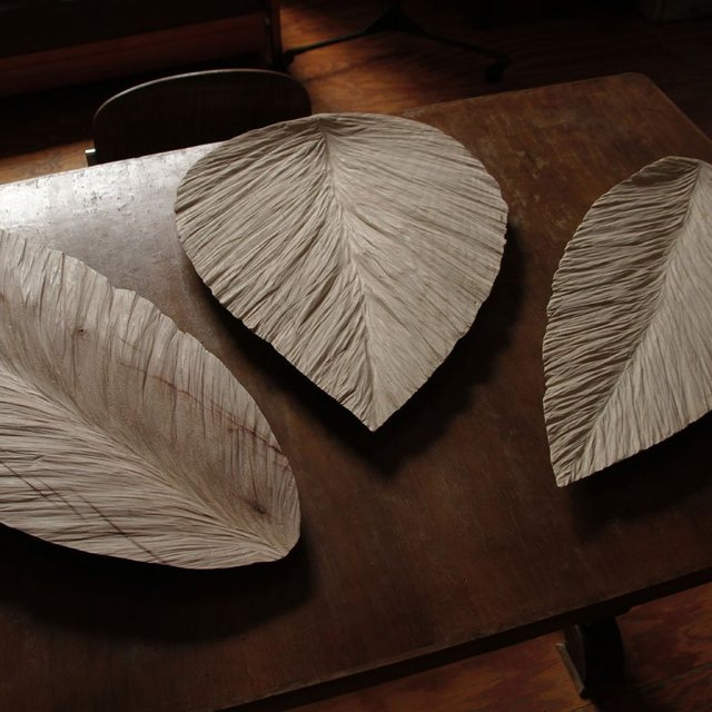 Leaf Sculptural Tray