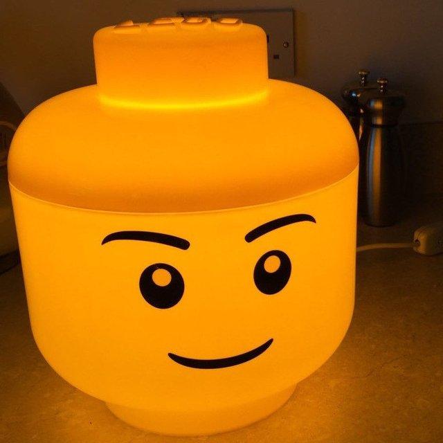LED Lego Lamp