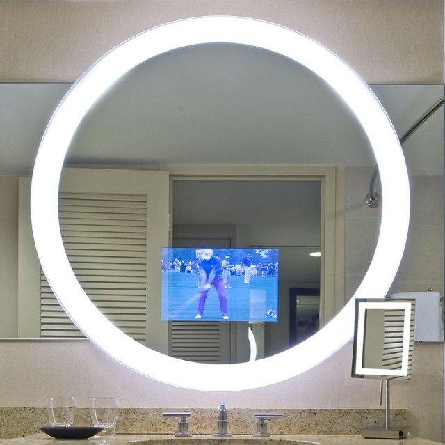 Trinity Lighted Mirror TV